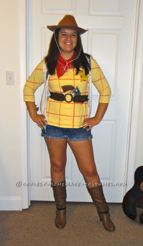 Cheap and Easy Toy Story Crew Costume