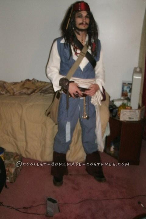 Cheap Homemade Captain Jack Sparrow Costume - 7