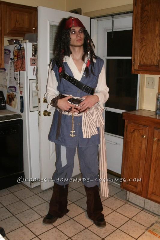 Cheap Homemade Captain Jack Sparrow Costume - 6