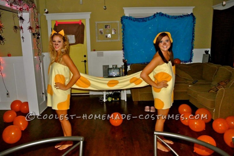 Connected CatDog Couple Costume