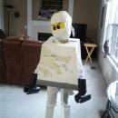 Cool Homemade LEGO Ninjago Zane White Ninja Costume