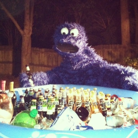Coolest Adult Cookie Monster Costume