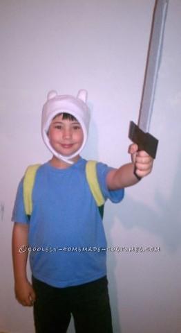 Easy Homemade Adventure Time Finn Costume