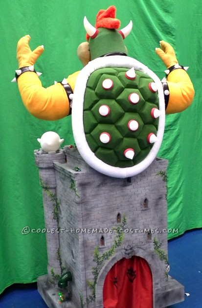 Coolest Animated Bowser Castle Costume - 5