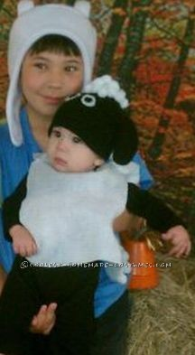 Coolest Baby's Shaun the Sheep Costume