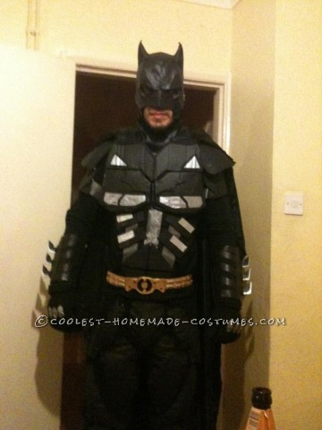 Cool Homemade Adult Batman Costume