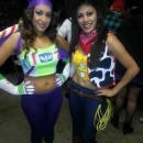 Coolest Girl Couple Buzz Lightyear and Woody Costumes