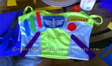 Coolest Girl Couple Buzz Lightyear and Woody Costumes - 6
