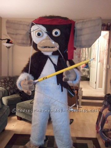 Transforming Homemade Gremlins Costume: Don't Feed Gizmo After Midnight!