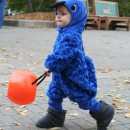 Coolest Homemade Baby Blue Macaw Costume