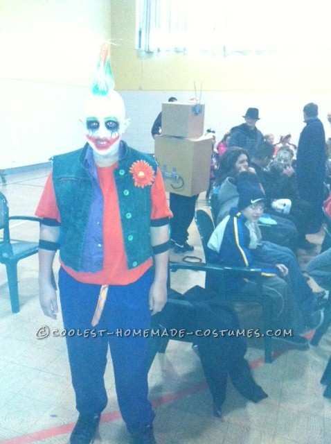 Coolest Homemade Joker Costume based on Gotham City Impostors