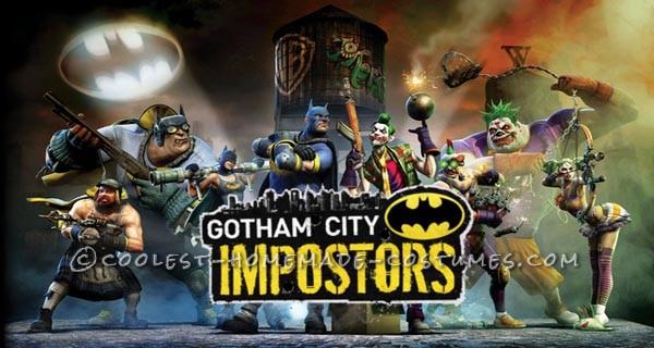 Coolest Homemade Joker Costume based on Gotham City Impostors - 3