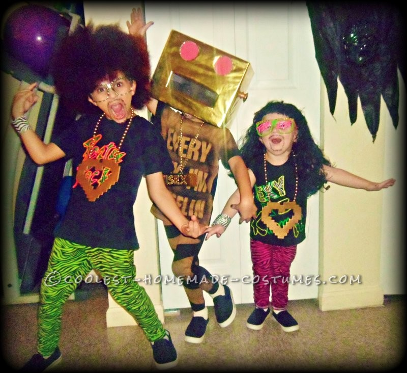 Coolest Homemade LMFAO Costume for Kids!