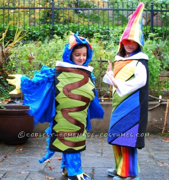 Dragon Roll & Rainbow Roll