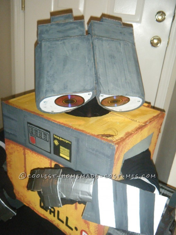 Coolest Homemade Wall-E and Eve Couple Costumes - 1