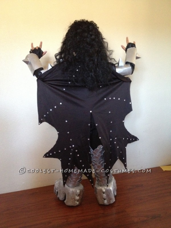 Coolest Kids Gene Simmons Homemade Halloween Costume