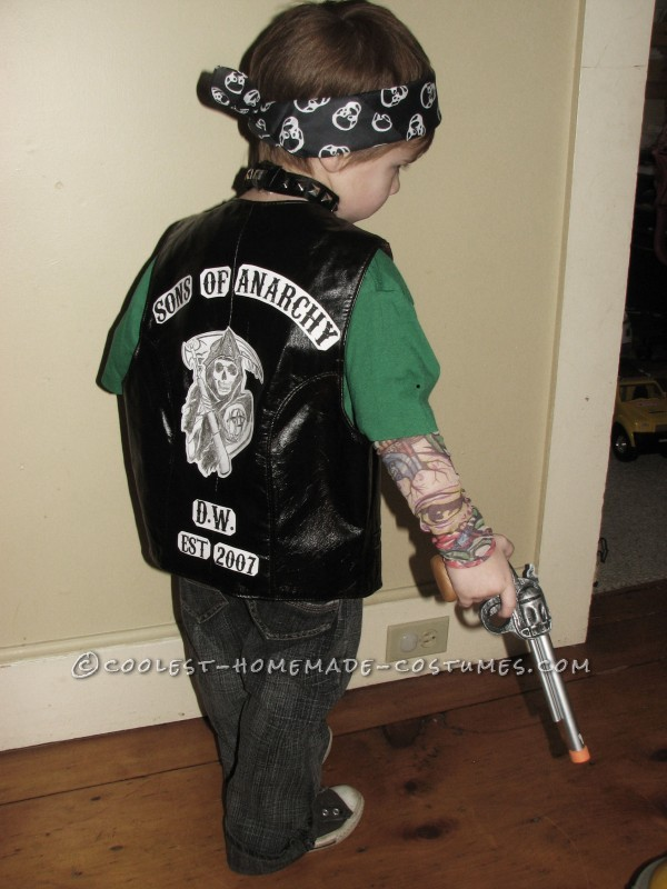 Coolest Kids Sons of Anarchy Halloween Costume