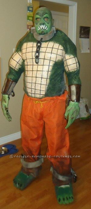 Epic Handmade Killer Croc Costume from Batman: Arkham City