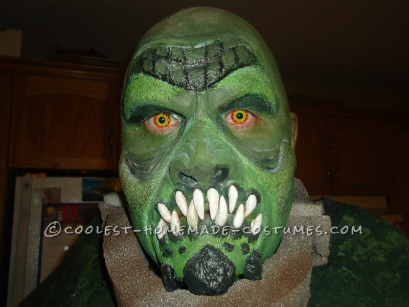 Epic Handmade Killer Croc Costume from Batman: Arkham City - 1