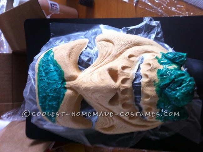 Epic Handmade Killer Croc Costume from Batman: Arkham City - 5