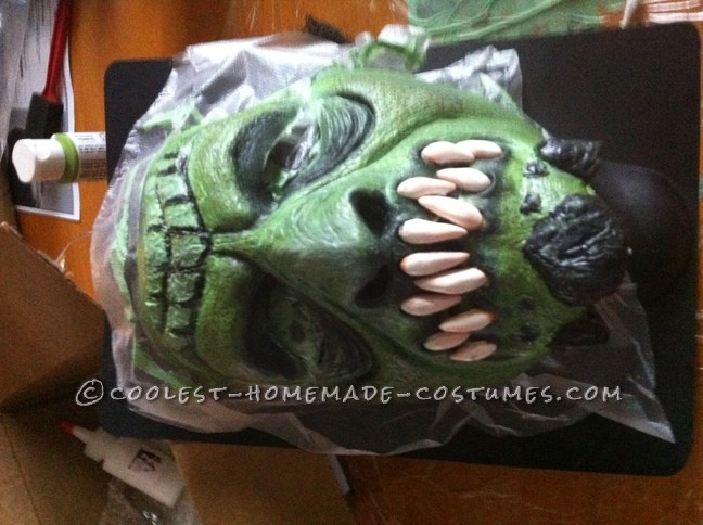 Epic Handmade Killer Croc Costume from Batman: Arkham City - 6