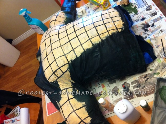 Epic Handmade Killer Croc Costume from Batman: Arkham City - 7