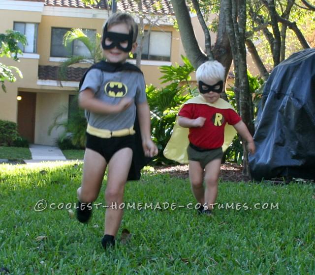 """Robin, to the batmobile!"""