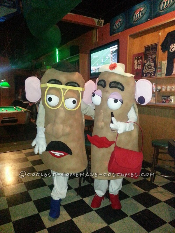 Mr and Mrs Potatohead go to the bar!