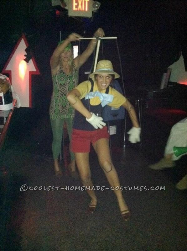 Coolest Pinocchio Costume
