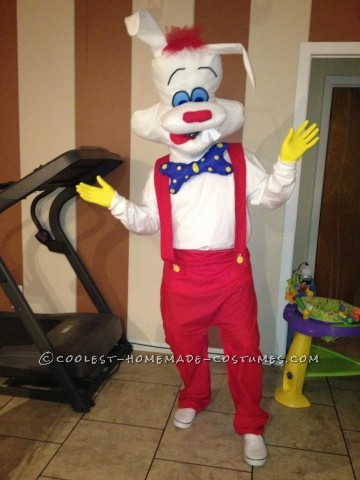 Coolest Homemade Roger Rabbit Costume