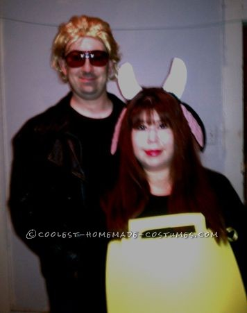 Coolest SNL More Cowbell Christopher Walken Couple Costume: We love that Saturday Night Live skit with Christopher Walken wanting more cowbell in the recording studio and thought it would be a cheap and easy co