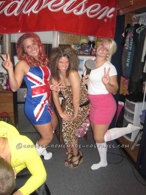 Coolest Spice Girls Group Costume - 3