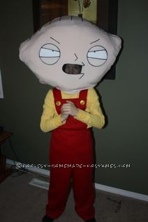 Coolest Stewie Griffin Halloween Costume for a Boy - 1