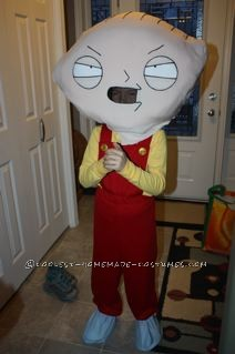 Coolest Stewie Griffin Halloween Costume for a Boy - 2