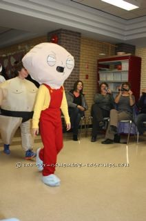 Coolest Stewie Griffin Halloween Costume for a Boy - 7