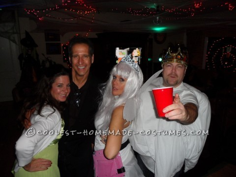 Coolest Tooth (with Crown) and Tooth Fairy Couple Costume