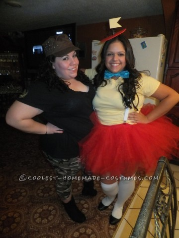 Coolest Tweedle Dee and Tweedle Dum Couple Halloween Costume