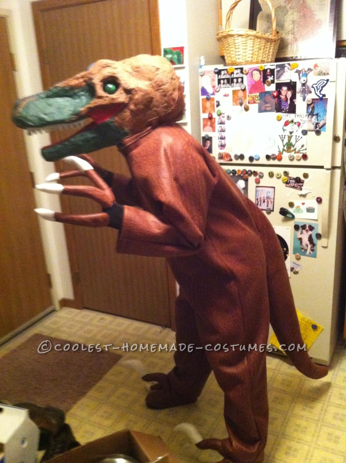 Coolest Homemade Velociraptor Costume