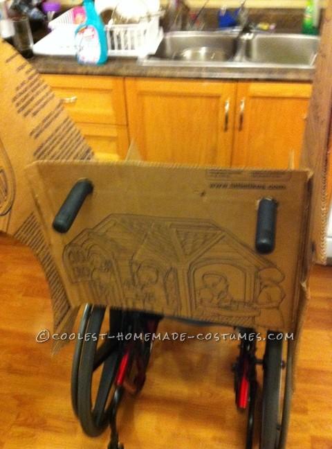 Coolest Wheelchair Batmobile Costume for a Boy