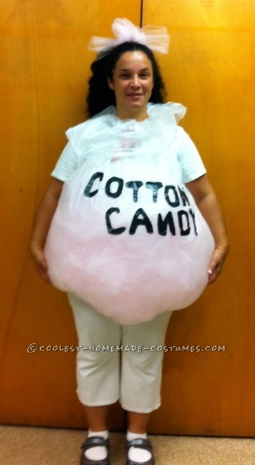 Coolest Last-Minute Cotton Candy Halloween Costume