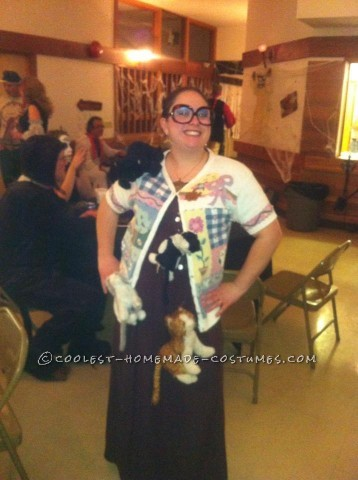 Crazzzy Cat Lady Costume