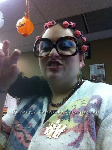 Crazzzy Cat Lady Costume - 4