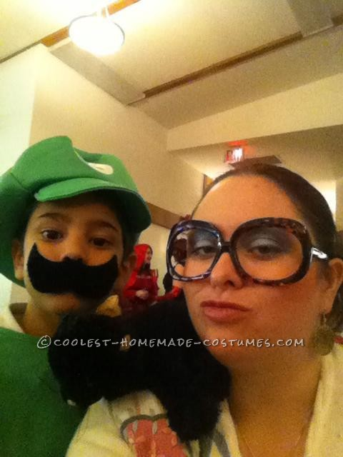 My son was Luigi. So cute!