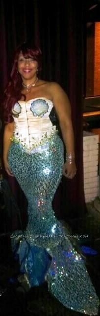 Curvy Mermaid Costume
