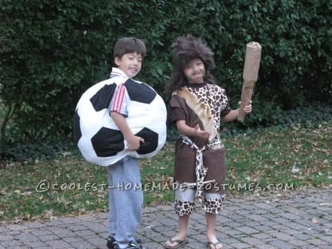 Cute Caveman Costume