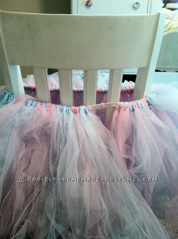 Cute Cotton Candy Costume with Tutu and Corset - 7