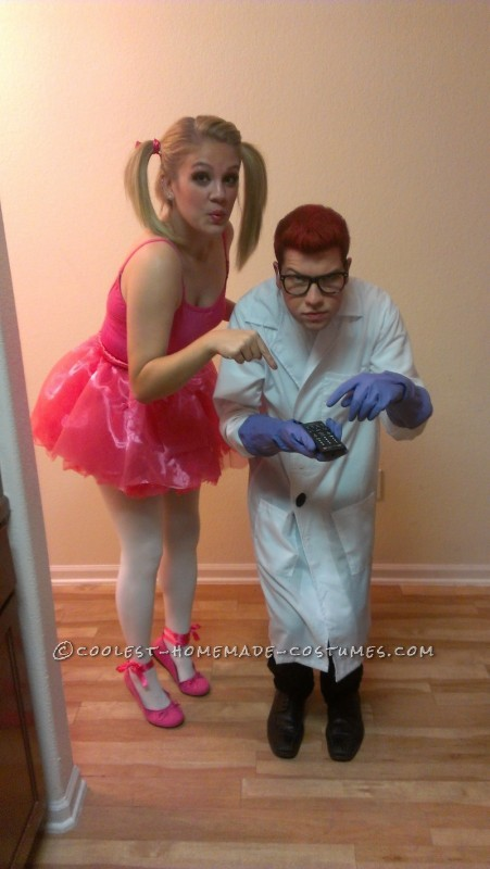 Cute and Easy Dexter and Dee Dee Couple Cartoon Costume - 1