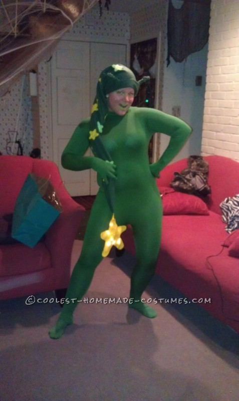 Cute Glow Worm Costume