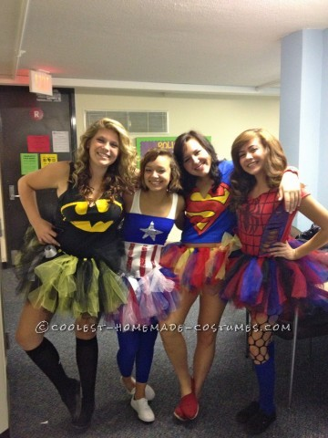 Cute Homemade Superhero Costumes for Girls