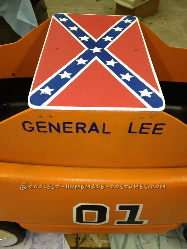 "The General Lee ""wagon"""